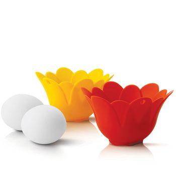 Escalfador de huevos de SiliconeZone - set de 2 piezas