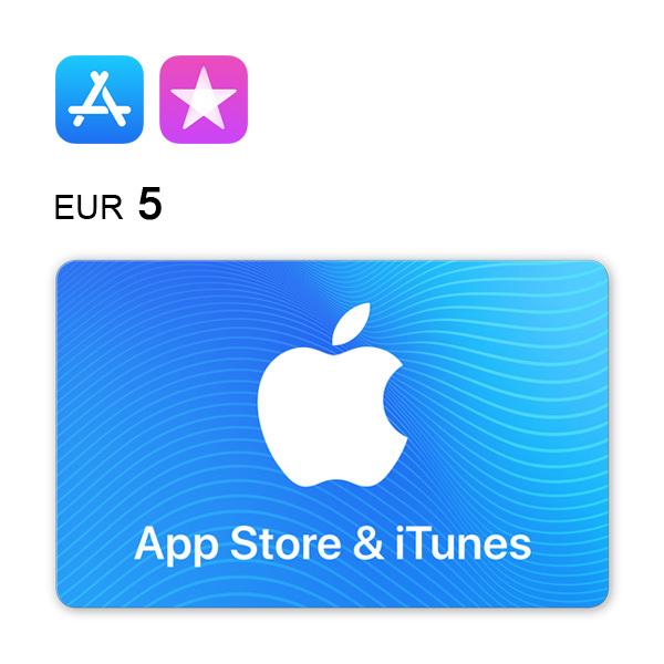 Tarjeta regalo del App Store & iTunes: 5€ Imagen