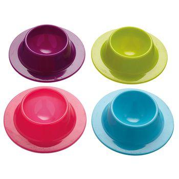 Huevera de silicona de Colourworks - set de 4 piezas