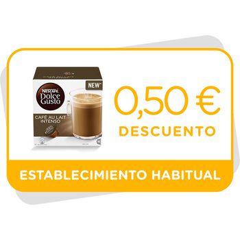 Vale de descuento de 0,5€ en Café con Leche Intenso