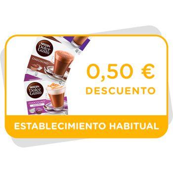 Vale de descuento de 0,5€ en las variedades de Chocolate