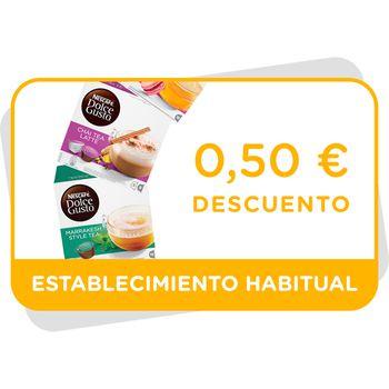 Vale de descuento de 0,5€ en las variedades de tés