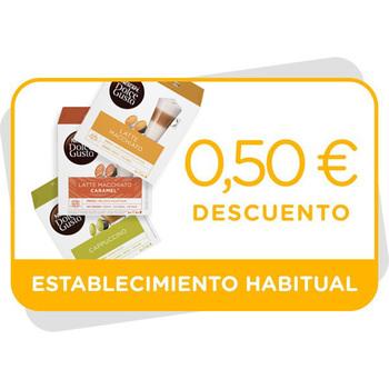 Vale de descuento de 0,5€ en Cappuccinos y Lattes Macchiato
