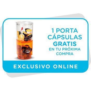Vale para un portacápsulas gratis en tu próxima compra online