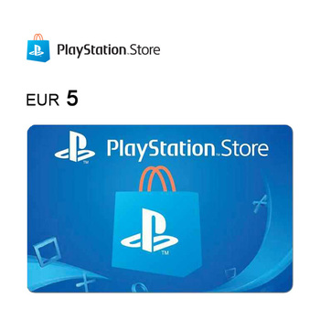 Tarjeta de regalo de 5€ para PlayStation®Store