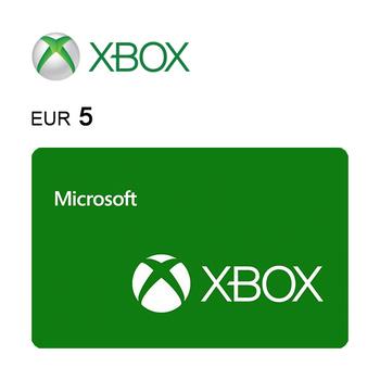 Tarjeta de regalo de 5€ para Xbox