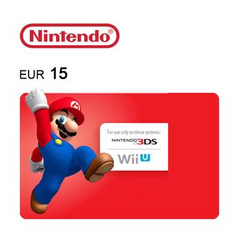 Tarjeta de regalo de 15€ para Nintendo eShop