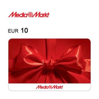 Tarjeta regalo de 10€ para Media Markt