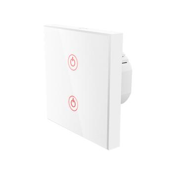 Interruptor de pared táctil Wi-Fi de Hama