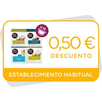 Descuento de 0,50€ en Cappuccino en establecimiento