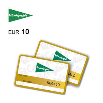 Tarjeta regalo de 10€ para El Corte Inglés