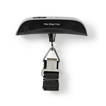 Báscula digital para equipaje & termómetro de Nedis